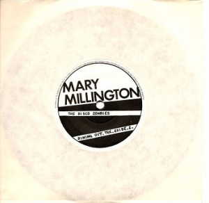 Mary Millington Record Disc