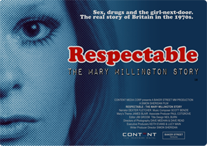 Respectable the Mary Millington Story movie Simon Sheridan