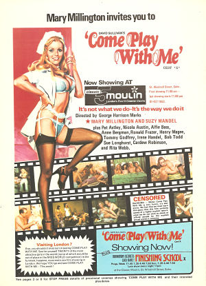 Come Play with Me Advert 3
