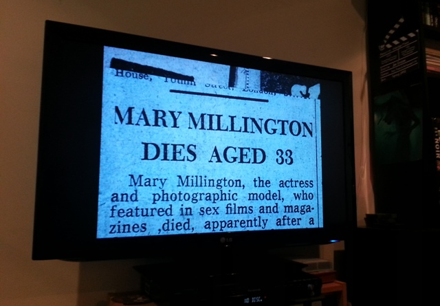 Mary Millington's TBC