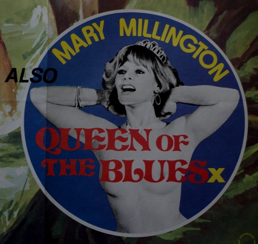 Mary Millington Queen of the Blues