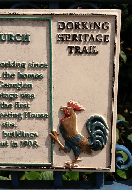 Dorking Cock Heritage Trail