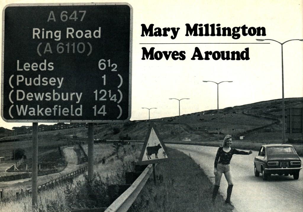 Mary Millington Hitchhike