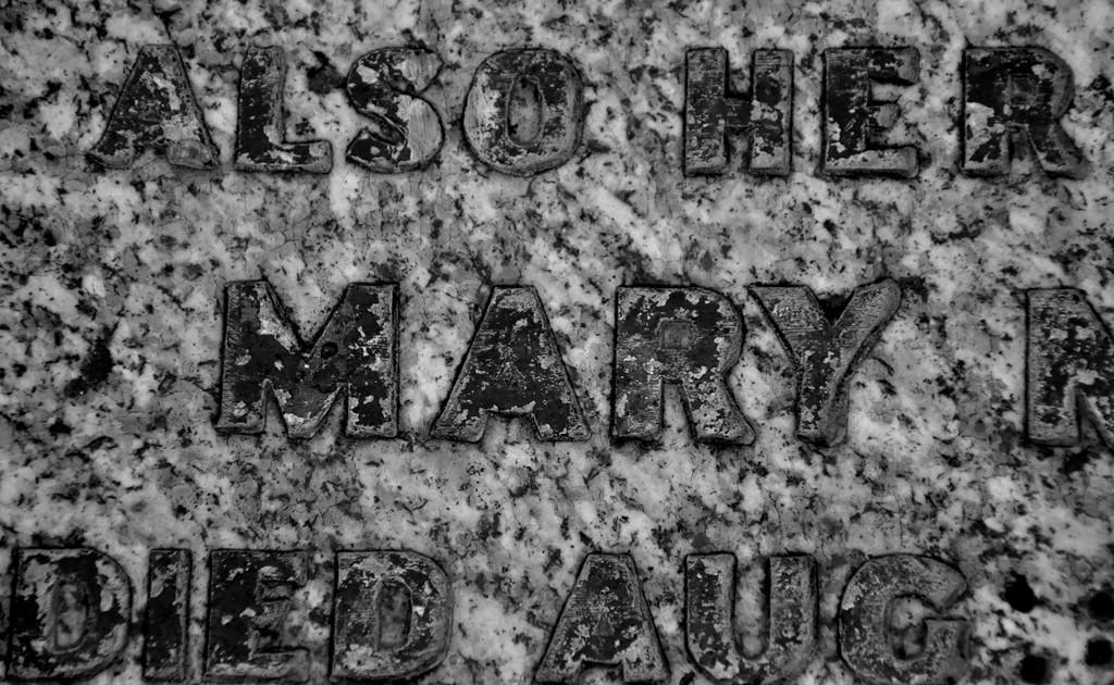 Mary Millington headstone