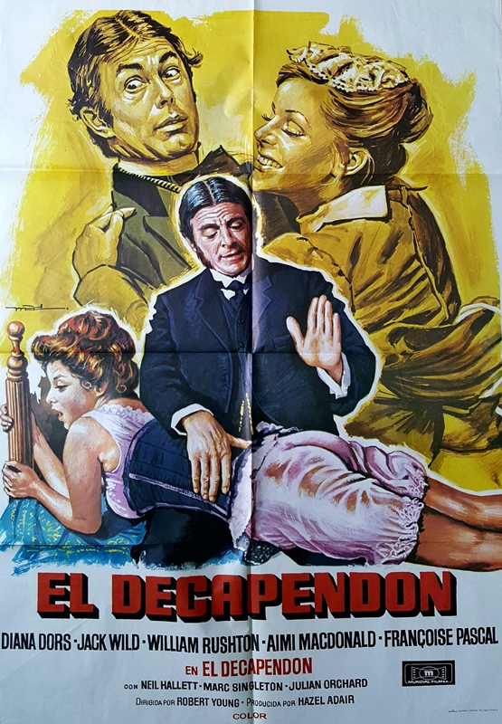 El Decapendon 1978 poster
